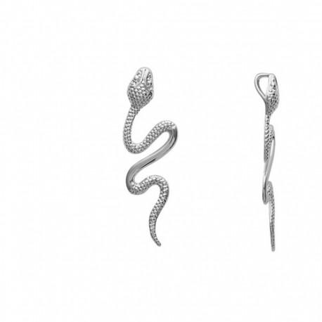 PENDENTIF Serpent DESIGN BIJOUX ARGENT