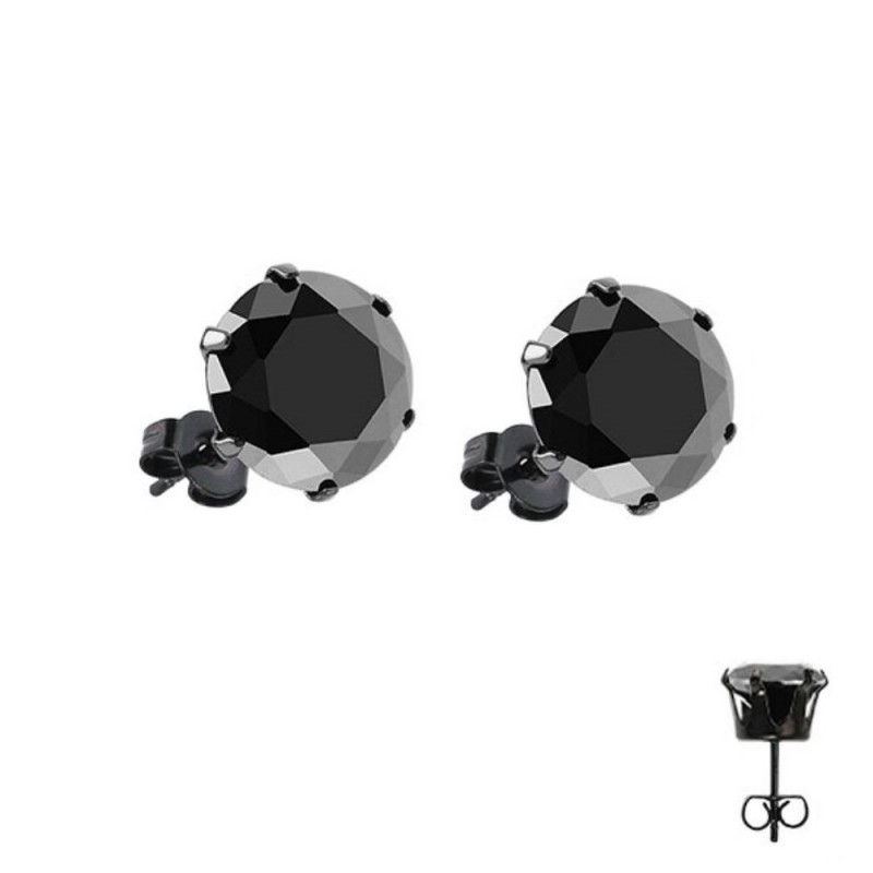 boucles d oreilles homme acier bijoux la mode. Black Bedroom Furniture Sets. Home Design Ideas