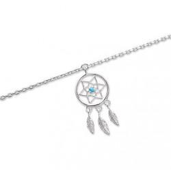 Bracelet ATTRAPE REVES en Argent massif Longueur 16 à 20cm au choix