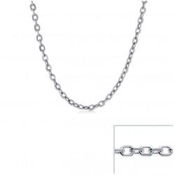 Chaine argent maille FORCAT largeur 3mm